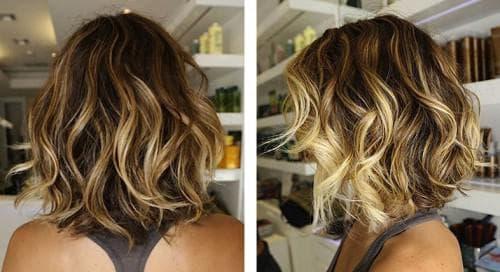 балияж волос