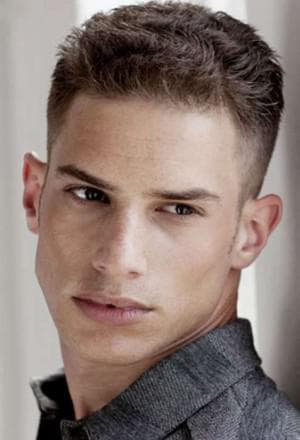 мужская молодежная прическа Hairstyle