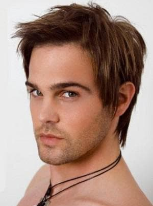 каскад для мужчин на короткие волосы