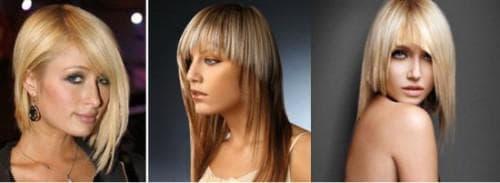 асимметричная стрижка каскад на длинные волосы