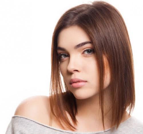 стрижка каре на тонкие редкие волосы средней длины