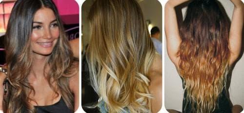омбре волос