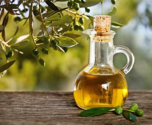 маска для роста волос с оливковым маслом