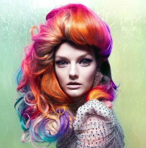 crazy colors волос для женщин