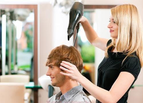 использование муса для мужской причёски