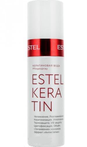 кератиновая вода Эстель