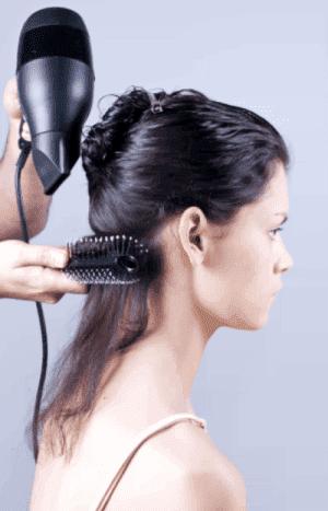метод сушки волос брашинг