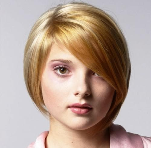 как сделать короткую женскую стрижку на круглое лицо