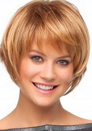 объёмный боб каре на короткие волосы