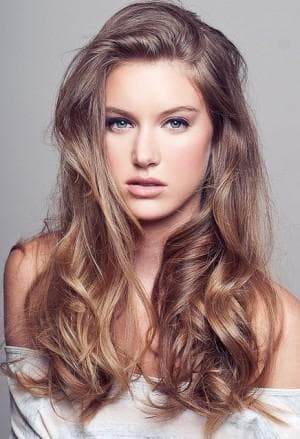 цвета волос Шоколадный блондин