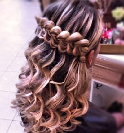 традиционная французская коса