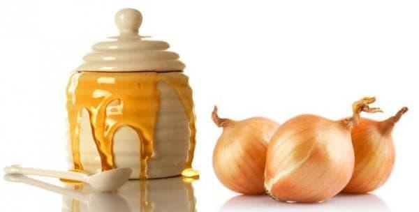 лук и мёд