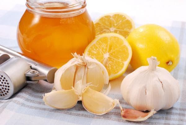лук, лимон и мёд