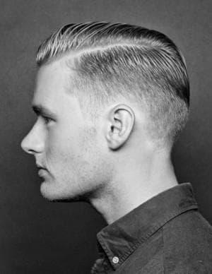 мужская причёска Гитлерюгенд