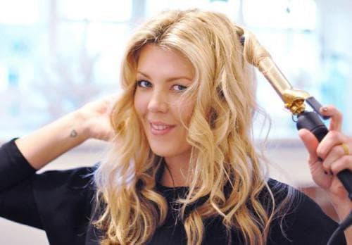 как правильно накрутить волосы щипцами