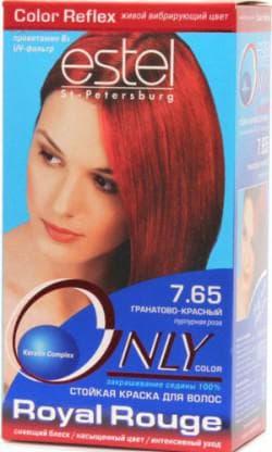 краска для волос Estel медно рыжий цвет волос