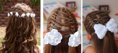 причёска на 1 сентября для девочки