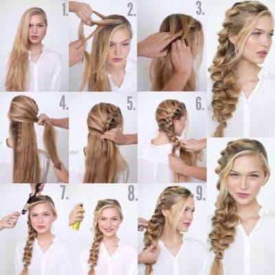 ежедневные причёски для длинных волос
