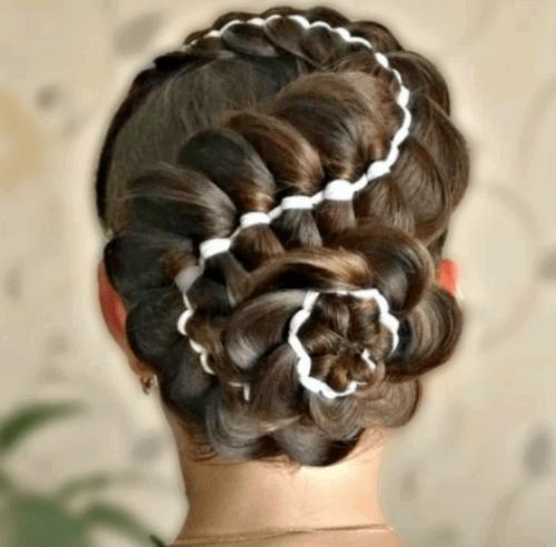 Коса навыворот как плести