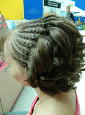 африканская коса на короткие волосы