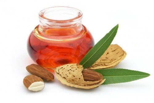 мед и миндальное масло