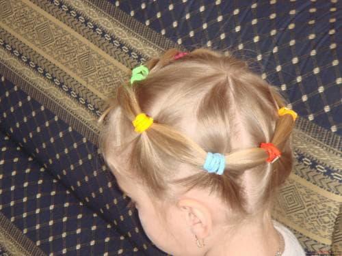 причёска веночек для маленькой девочки