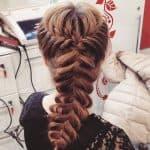 прически на свадьбу косы на средние волосы