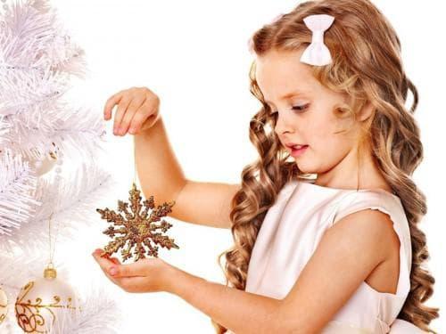 романтичные локоны для маленькой девочки