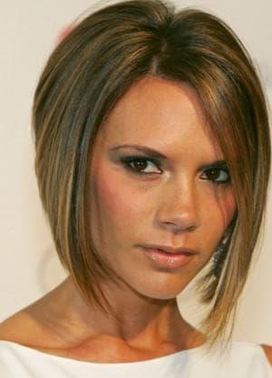 стрижка боб для тонких волос для худого лица