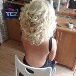локоны на средние волосы в домашних условиях