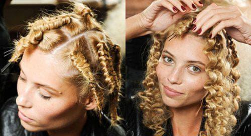 шпильки на средние волосы
