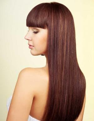 цвет волос светлый махагон