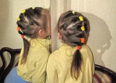 хвостик для девочек