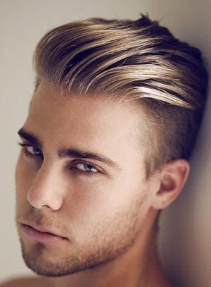 как уложить волосы мужчине