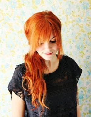 комбинированный янтарный цвет волос