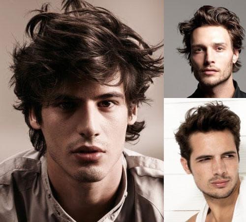 как укладывать кудрявые волосы мужчине