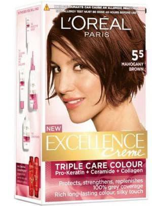 краска для волос Лореаль махагон