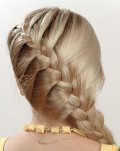 пышная коса на жидкие волосы