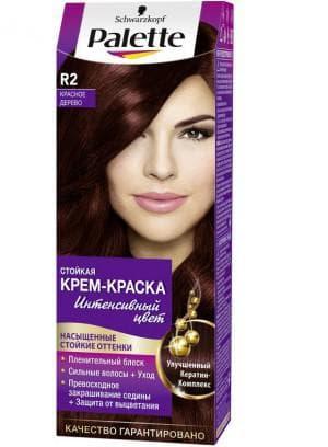 краска для волос Палетт махагон