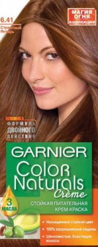 краска для волос Гарньер Color Naturals 6.41