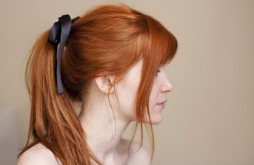 медно рыжий цвет волос со светлыми оттенками