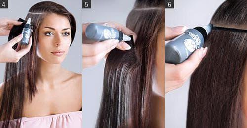 холодное Испанское наращивание волос