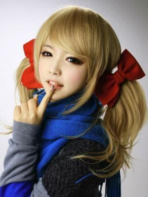 корейские прически с хвостиком