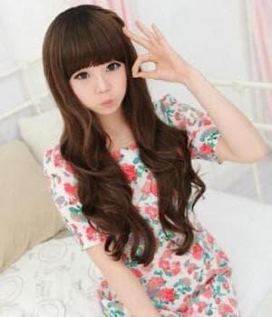 корейские прически на длинные волосы