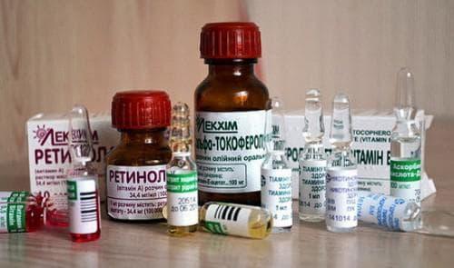 витаминотерапия для волос