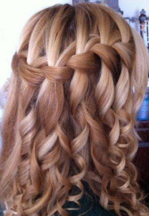 жгутики на длинные волосы на свадьбу для девочек