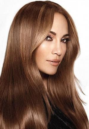 ореховый цвет волос