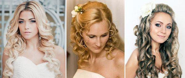 романтичная прическа с локонами на средние волосы