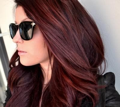 светло-коричневый с рыжим подтоном цвет волос