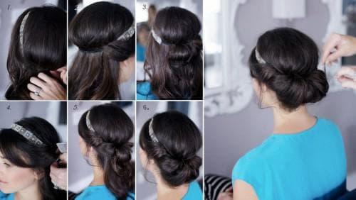 красивая греческая причёска своими руками